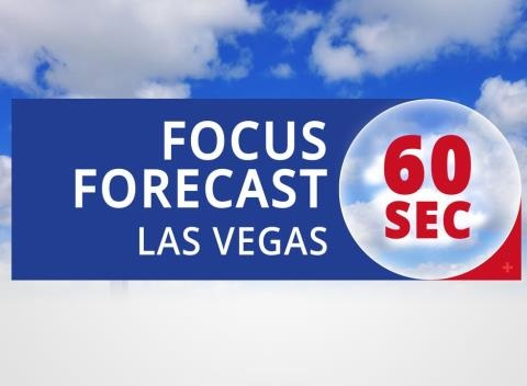 News video: Las Vegas' 60 Second Forecast