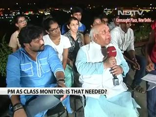 News video: PM Narendra Modi as Class Monitor?